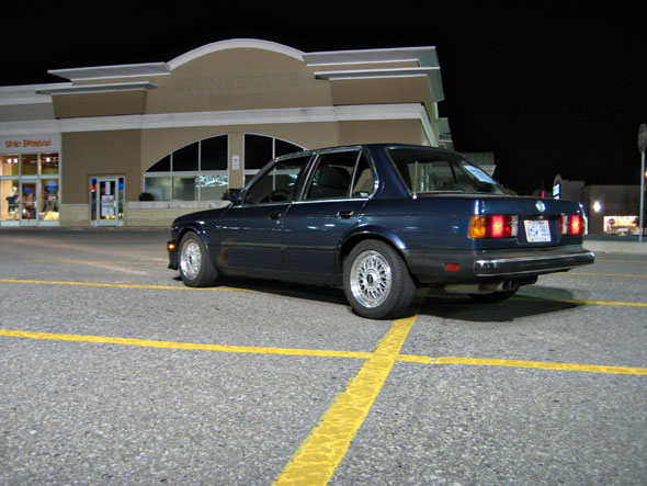 This was the last shot I ever took of the car, it is now someones Track Car