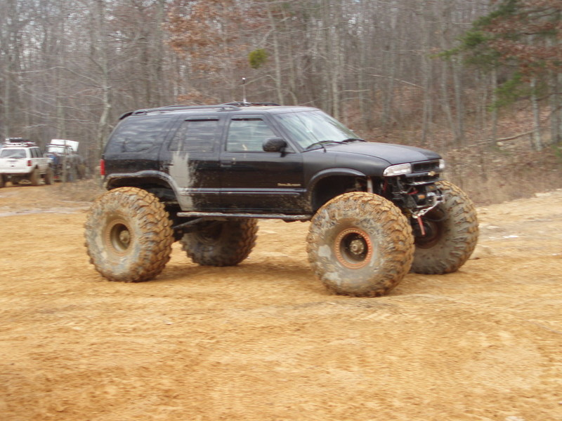 Black and lifted