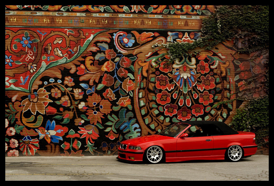 Not only does the car look exceptional but the location is great.