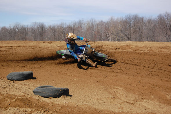Another great berm shot picture from Sam