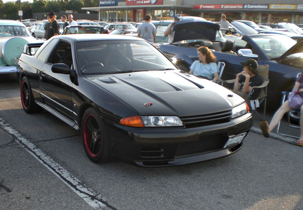 The only RHD car at the show was this Skyline