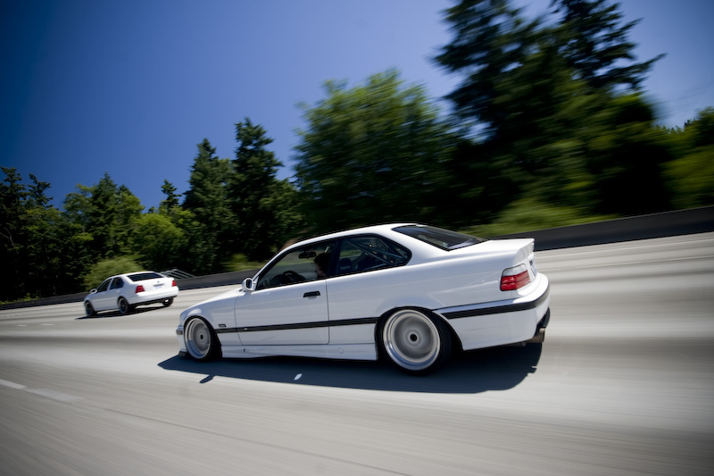 White E36 - Spotted on bikeguide.org