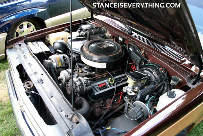Gm built their engine bays  big so you could put whatever you feel like under the hood