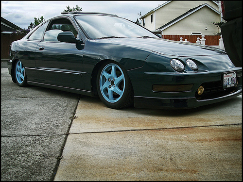Post Pics Of Your Painted OEM Wheels ClubIntegracom Acura - Rims for acura integra