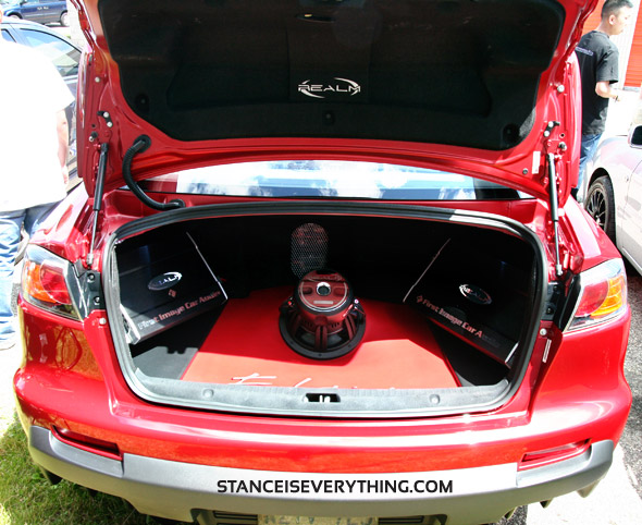 Clean trunk setup