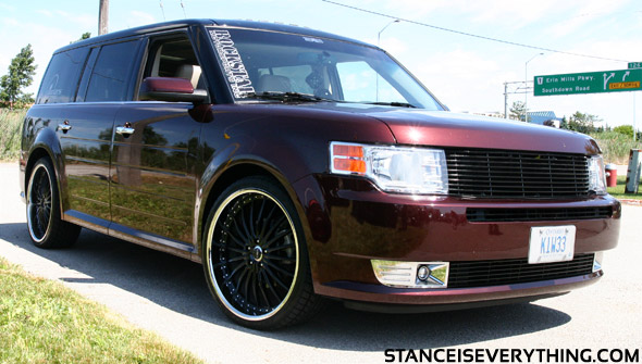 This Ford Flex was pretty clean