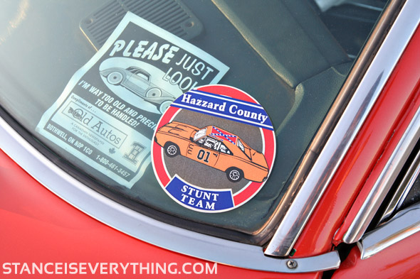 I wonder if I can get one of these stickers...