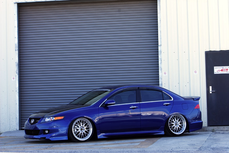 TSX with a clean kit