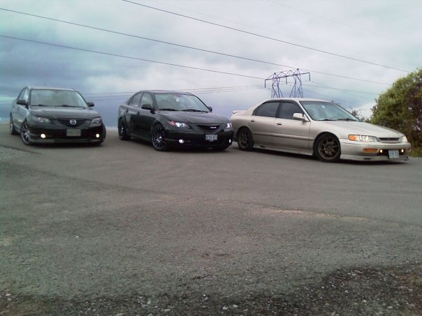 Stuntin  with some Mazdas