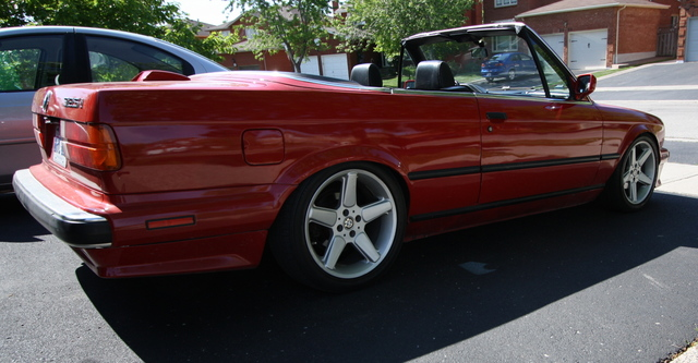Slammed early model convertible from the GTA