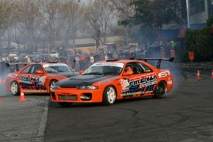 Not just a show and shine but drifiting events as well