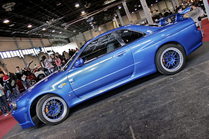 Skyline on Blue Eneki RPF-1s