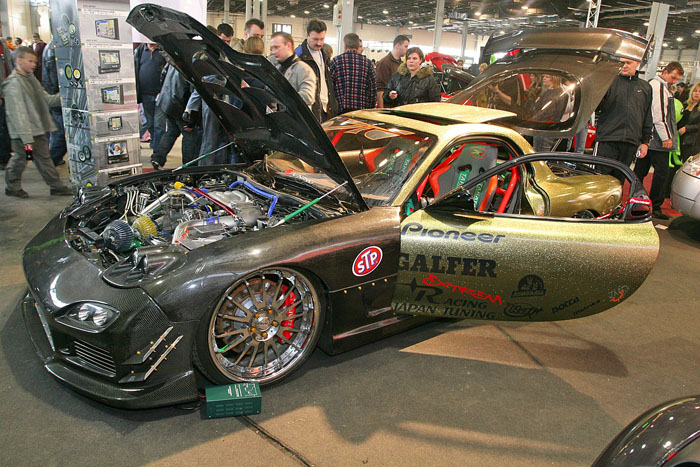 This Rx-7 is seven types of crazy. Seriously.
