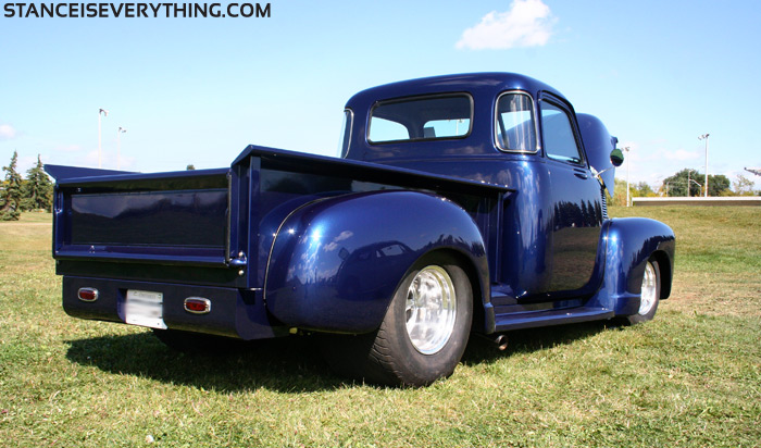 It's interesting that older Chevy trucks used to be so round compared to what came later