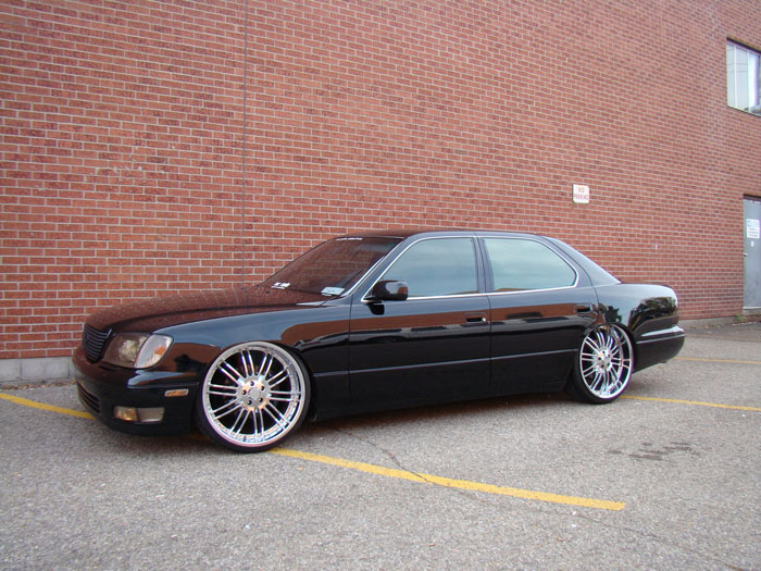 "Now this car is sitting on 22x9"" rims"