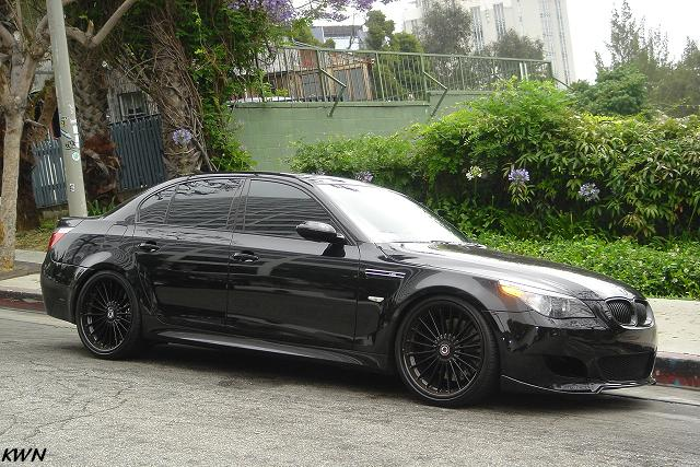 Blacked out Alpina's look pretty sharp