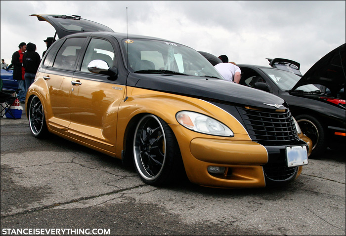 One  of the better looking PT Cruisers I have seen, these can look gawdy