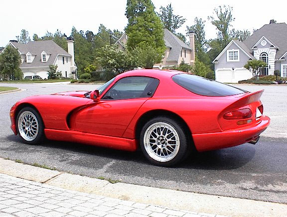 The v10 should move the LMs on this viper no problem