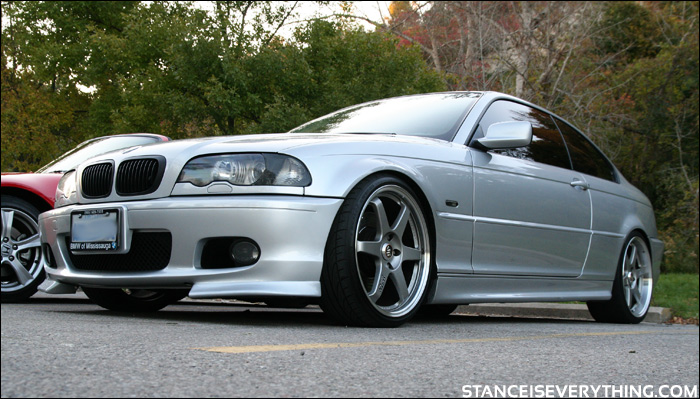 You don't seem too many e46s on Volks