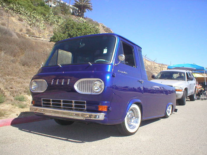 Econoline trucks pickups get the same treatment