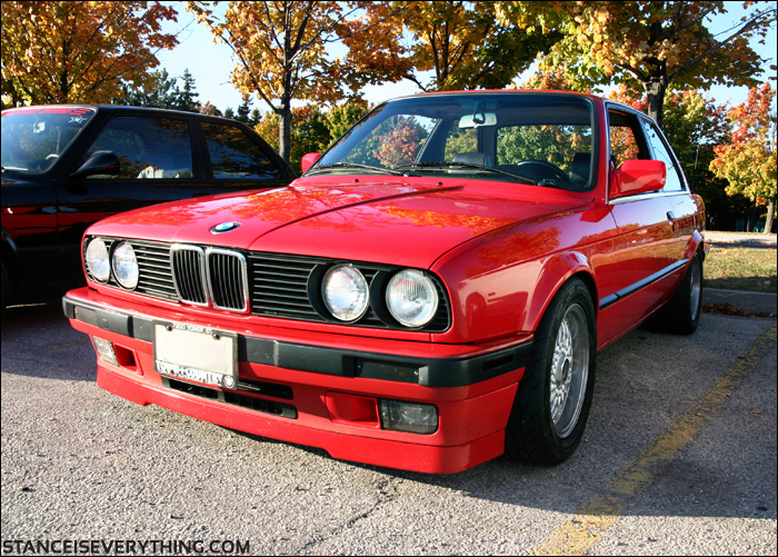 Jays e30 has been in hiding the past few years but his fitment is still bang on