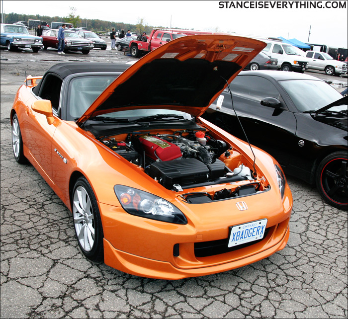 As is this s2000 which also had one of the best clear bra applications I have ever seen