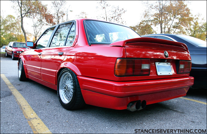 Really feeling the stance on this red mtech II