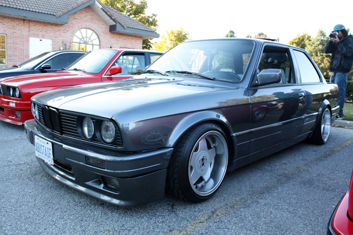 More of that dished out Mtech II from the Bimmersport crew, jackass in the bg ruining the shot (me)
