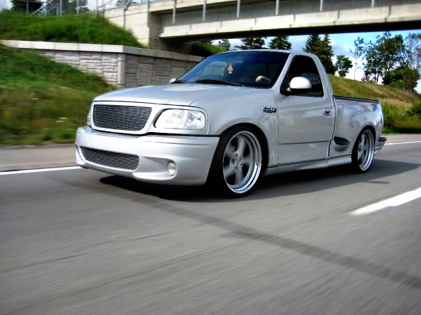 With the new stance this truck rolls hard