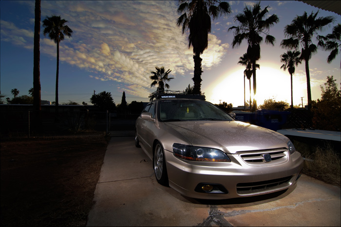 Accords are pretty hot right now and Adrian's is one of the reasons why