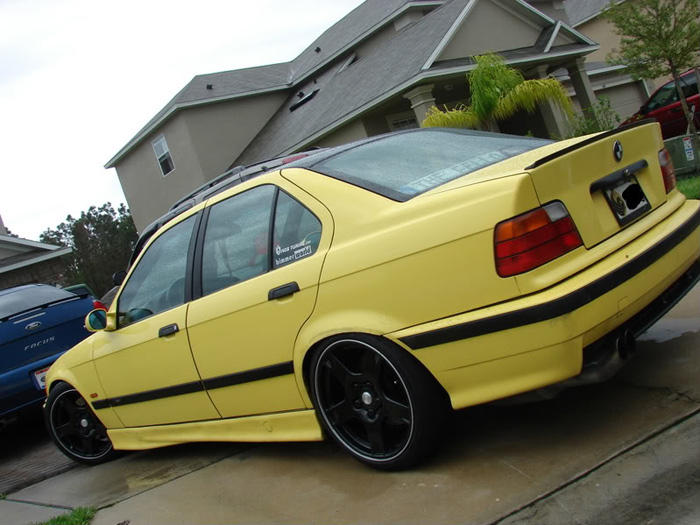 Apperently this e36 was rocking these c5 wheels about 2 years ago, trend setter?