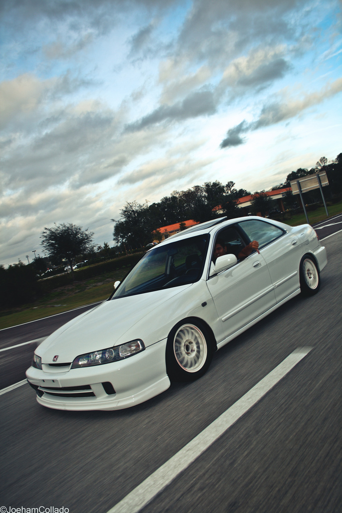 Another four door with a JDM front clip