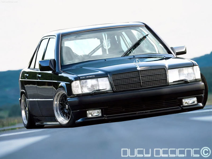 Theme Tuesdays Mercedes Benz 190e Stance Is Everything