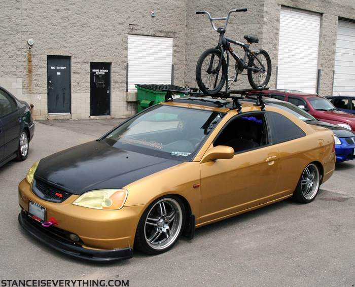 Event coverage voice coil meltdown 5 stance is everything for Gold honda civic