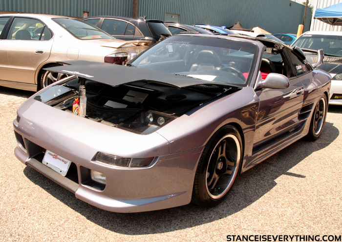 Full shot of the MR2 I
