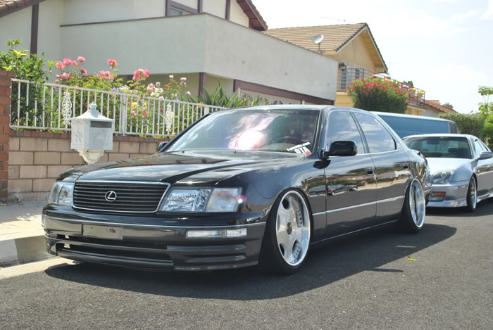 Theme tuesdays lexus ls400s stance is everything lots of stagger on this ls publicscrutiny Gallery