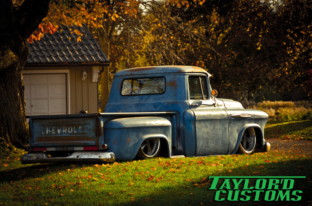 Featured Ride Taylor D Customs 57 Chevy 3200 Stance Is