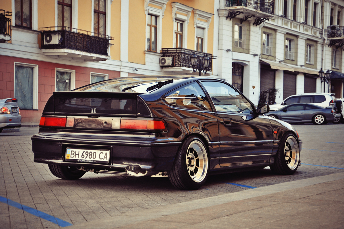 Stanced Crx Car Interior Design