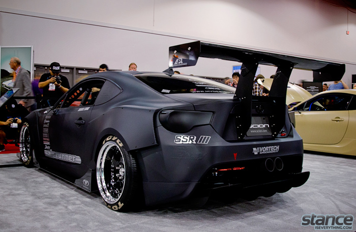 What size wheels with frs rocket bunny kit autos weblog