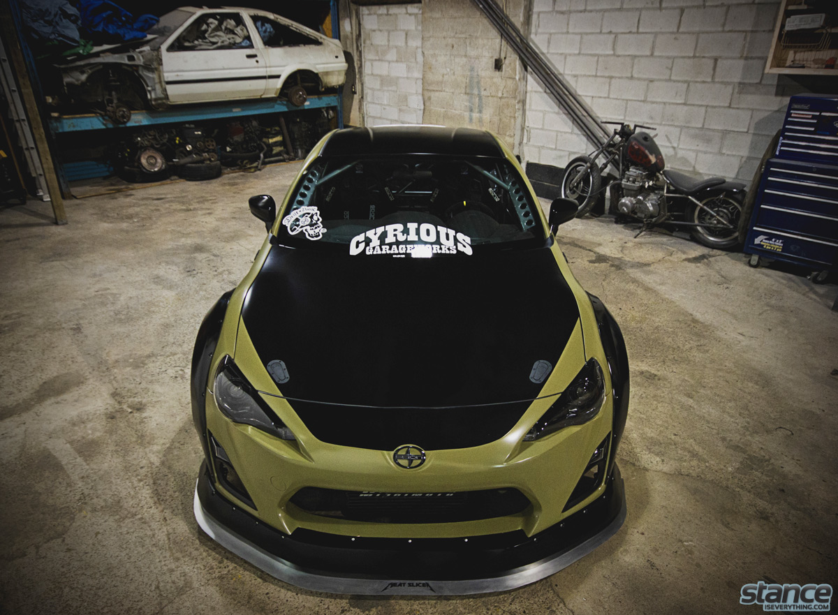Featured Ride Pat Cyr S Scion Fr S Stance Is Everything