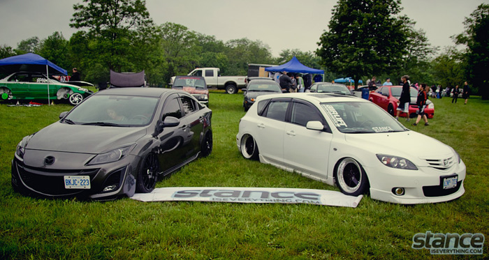 niagara_truck_and_tuner_expo_2013_cars_mazda_3_bagged_airrex_airlift