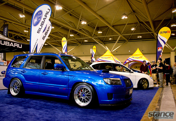importfest_2013_subaru_booth_forrester
