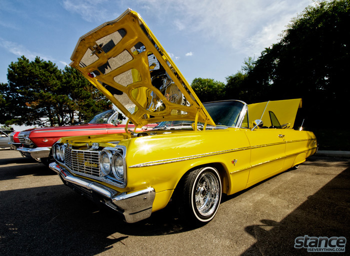 majestics_bbq_2013_yellow_64_impala_1