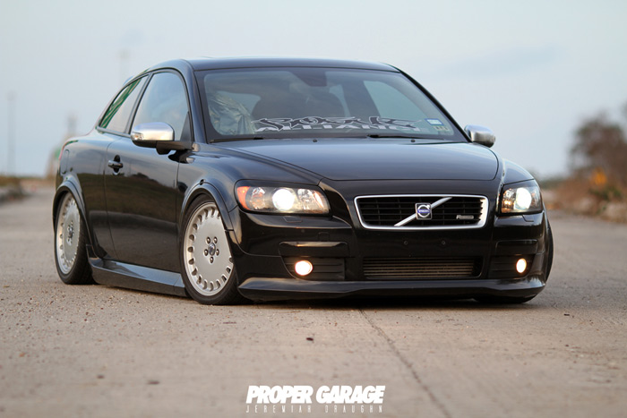 theme tuesdays volvo c30s stance is everything. Black Bedroom Furniture Sets. Home Design Ideas