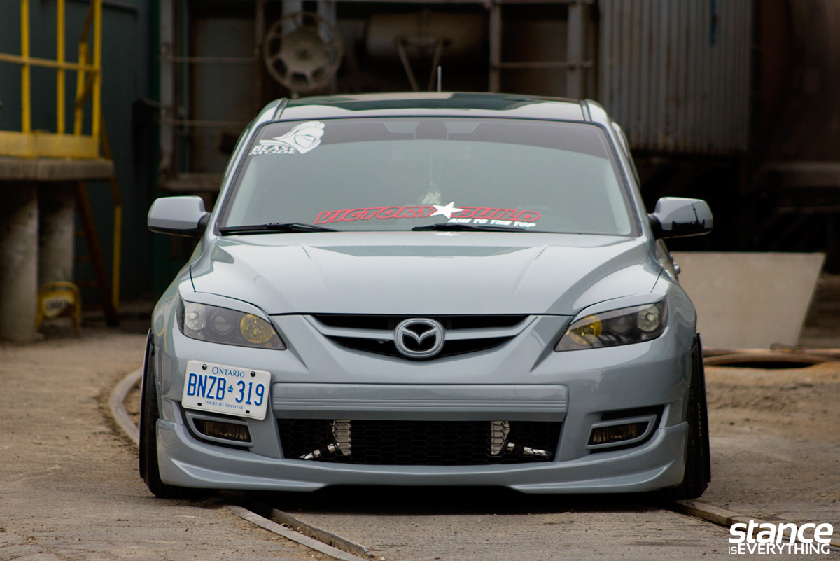 beast mode trevor 39 s 2007 mazdaspeed 3 stance is everything. Black Bedroom Furniture Sets. Home Design Ideas