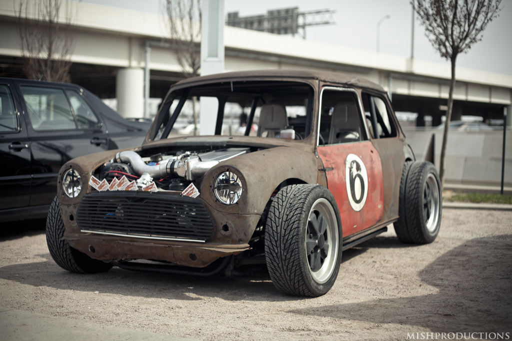 Wtf Friday The Tachyon Mini Cooper Stance Is Everything
