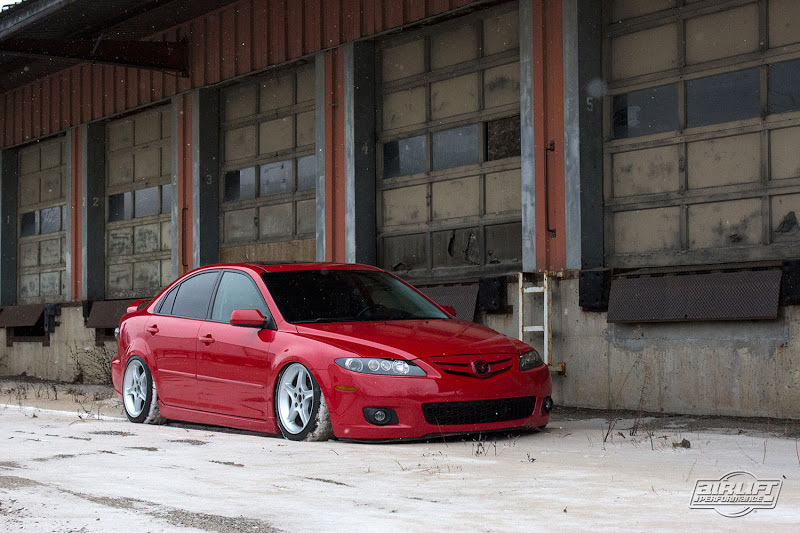 Not Sure If Air Lift Plans On Releasing The Six Kit But They Should Mazda6 12