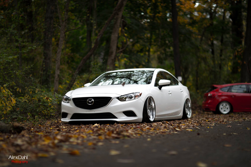 Six On Rotiform Sna S And Airrunner Suspension Mazda6 16
