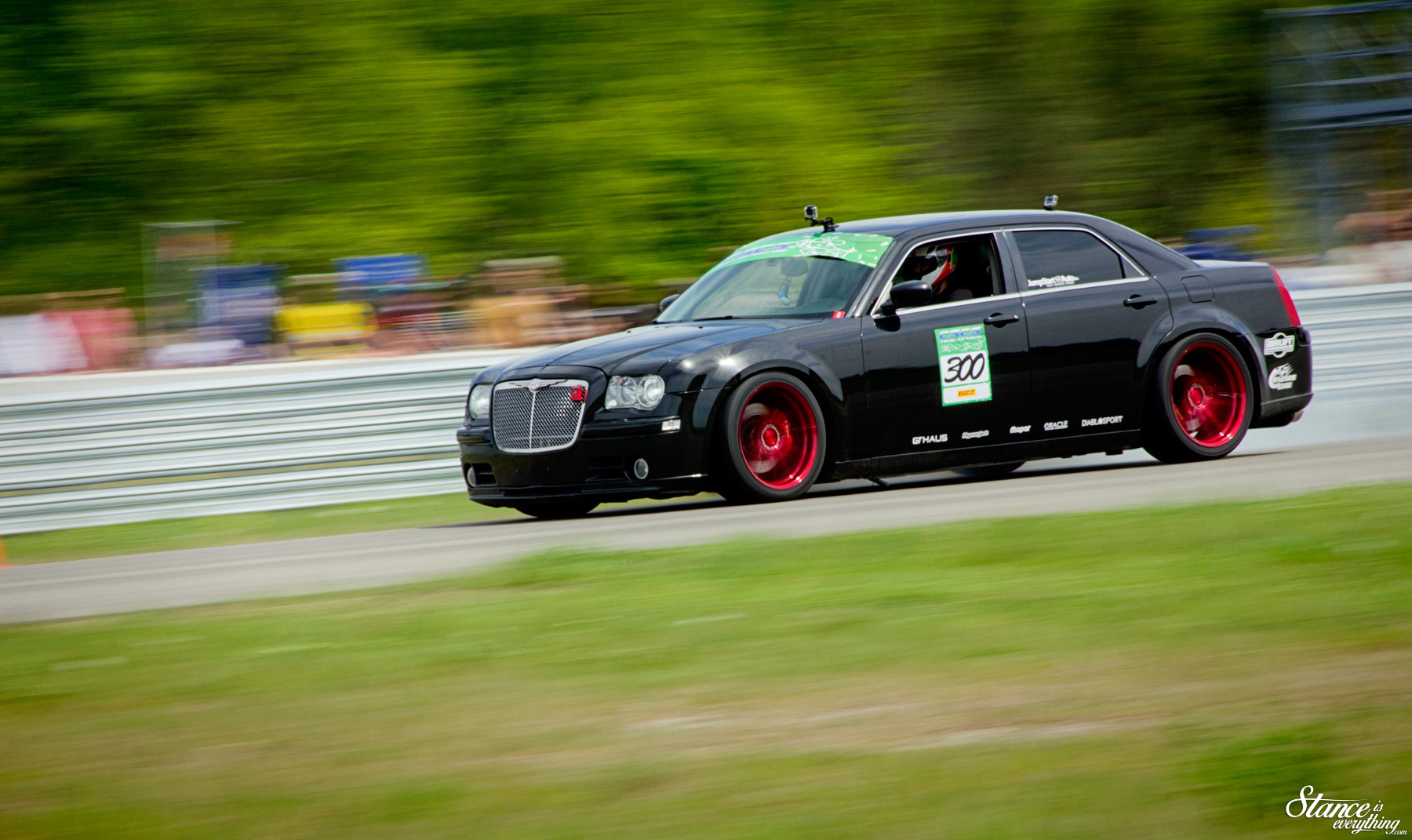 Prove It At The Track Christian S 300c Srt8 Stance Is Everything