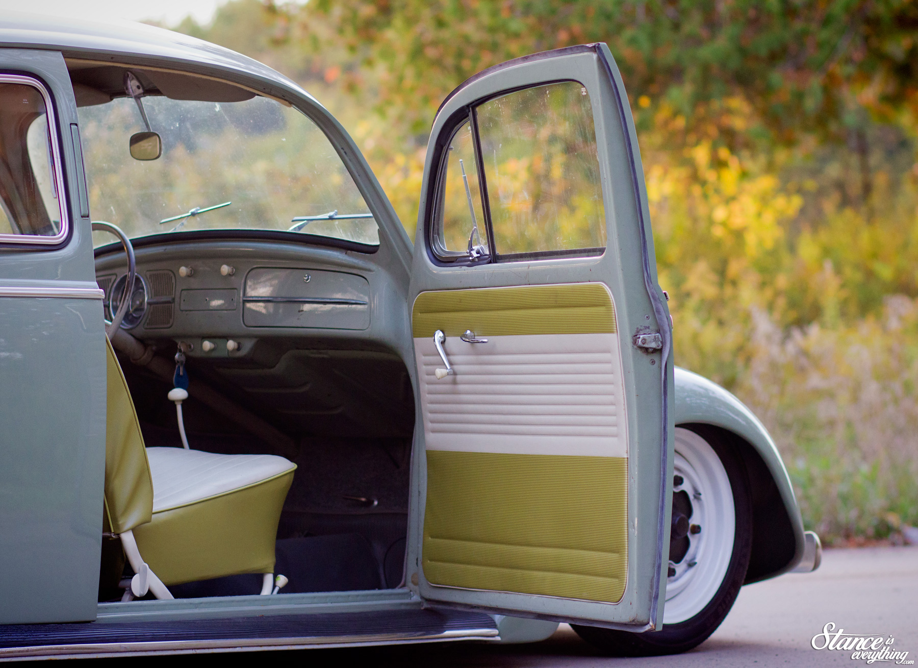 Classic Vw Beetle Interior Ideas 1960 Volkswagen The People S Champ Taylor D Customs 59 Stance Is Everything
